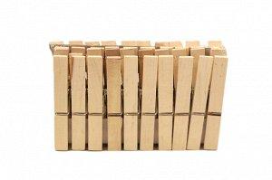 Прищепки деревянные малые набор 24 шт