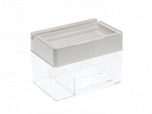 Держатель для туалетной бумаги самоклеющийся, 21 x 14 x 15 см сталь, ПВХ