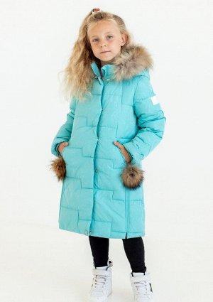 6165 Пальто для девочки