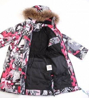 6138 Пальто для девочки