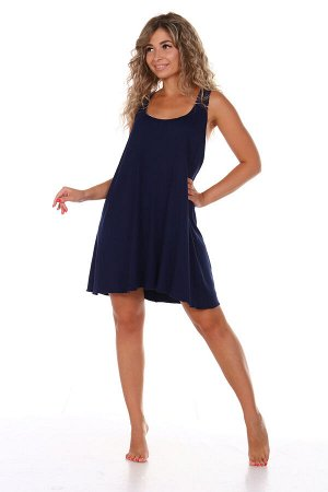 Сорочка женская, синий