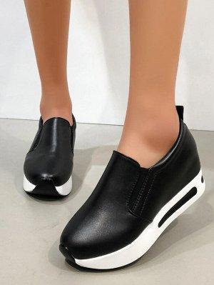 Кроссовки на скрытом каблуке