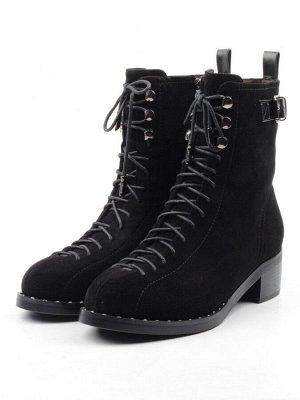 Ботинки женские (натуральная замша, нат.мех)