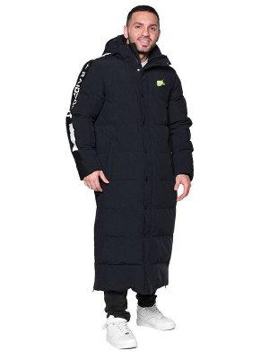 Пальто A-030 Черно-белый