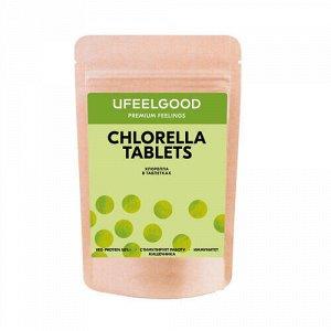 Морская водоросль, хлорелла / Chlorella pressed in tab form Ufeelgood