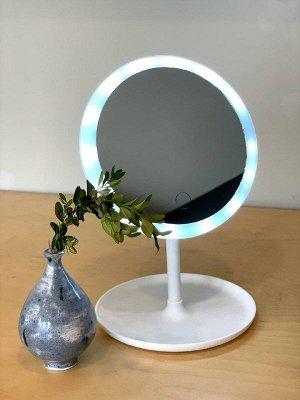 Зеркало для макияжа с подсветкой.❗️ВИДЕООБЗОР❗️