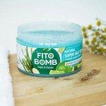 Соляной супер скраб для тела Fito Bomb, 250 мл