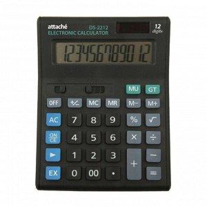 Калькулятор Attache Economy 974205 12 разр. батарея/фотоэлемент (190*145мм)/45/90