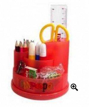 Организатор детский 5200096 Лимпопо 21 предметов вращающийся детский красн