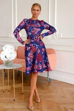 Платье Платья с принтом были в моде всегда, потому что особенно украшают и придают настроение. Эта модель скроет несовершенства фигуры и добавит уверенности. Яркое и самодостаточное, это платье можно