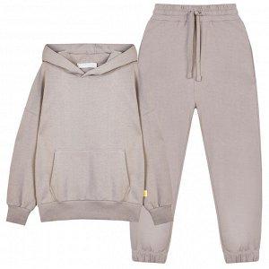 Комплект (джемпер, брюки) для мальчика, серый