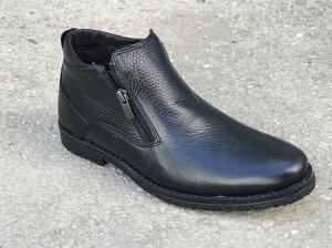 Зимние туфли из натуральной кожи (2)