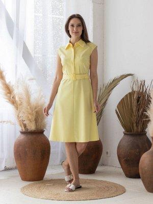 Платье (Цвет: желтый) 951-0326