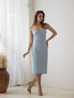 Сарафан (Цвет: голубой) 960-0368