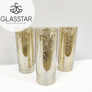 "Набор стаканов Glasstar ""Исланд"" / 330 мл, 3 шт."