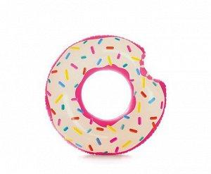 """Круг надувной """"Rainbow Donut Tube"""" (Пончик) 9+5"""