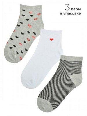 Женские носочки MIREY 3 пары. Размер 38-40