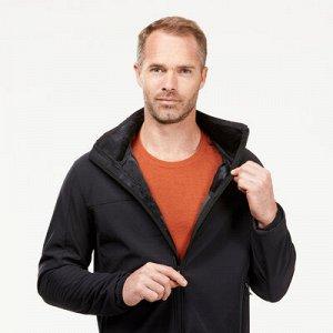 Куртка Ветрозащитные свойства Ветрозащитная мембрана. Устойчив к ветру до 30 км/ч.   Сохранение тепла Комфорт при темп. от 7°C до 4°C со 2 слоем. Плотный флис с начесом изнутри.   Водоотталкивающие