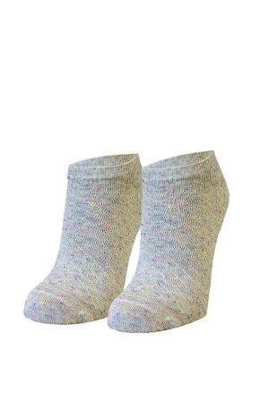 Носки женские с рисунком летние