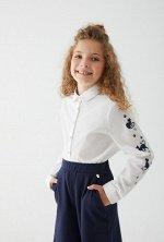 Блузка детская для девочек Tartlet1 белый