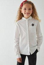 Блузка детская для девочек Milka1 белый
