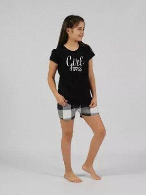 Комплект с шортами короткий рукав BOSS дет.