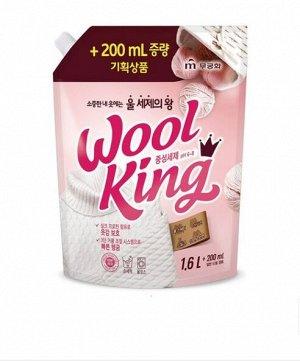 """Жидкое средство """"Wool King Liquid Detergent"""" для стирки изделий из деликатных тканей 1800 мл / 8"""