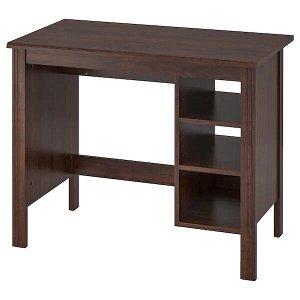 BRUSALI БРУСАЛИ Письменный стол, коричневый90x52 см