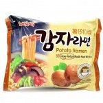 """Лапша со вкусом картофеля """"Potato Ramen"""" 120г"""