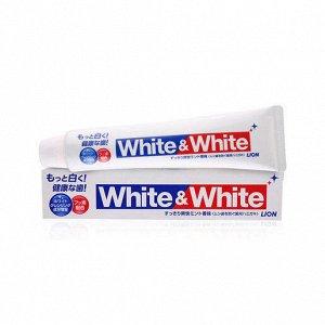 "Lion ""White & White"" Зубная паста c двойным отбеливающим эффектом"
