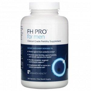 Fairhaven Health, FH Pro для мужчин, добавка для улучшения фертильности клинического класса, 180 капсул