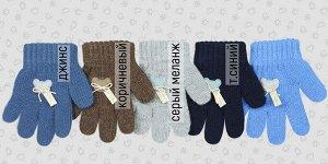 Перчатки Перчатки. Размер: 12,5 (2-3 года). Состав: 30% шерсть 70% акрил. Подклад: Без подклада