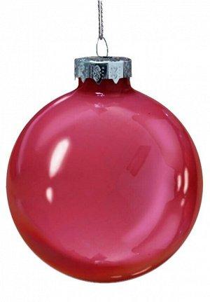 Новогоднее подвесное украшение Красный шар