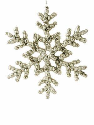Новогоднее подвесное украшение Снежинка