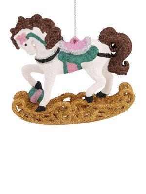 Новогоднее подвесное украшение Конь