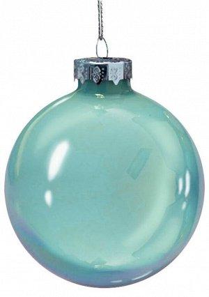 Новогоднее подвесное украшение Мятный шар