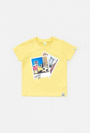 Футболка(Фуфайка) детская для мальчиков Pazolini оранжевый