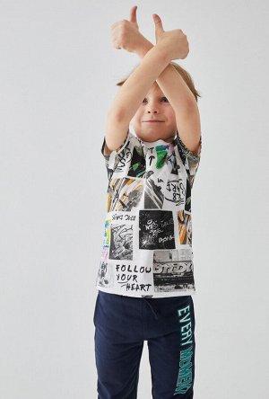 Футболка детская для мальчиков Kilroy набивка