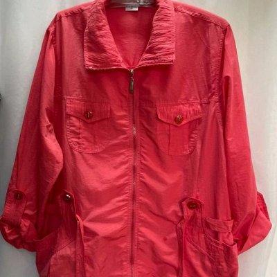 Распродажа женской одежды до 64 размера — Ветровки, пиджаки, кардиганы