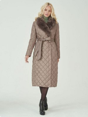 Пальто мех натуральный кролик