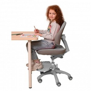 Растущее детское кресло с подставкой для ног HOLTO-4F(серый)