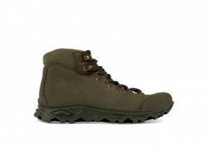 Ботинки мужские TREK Fiord10 зеленый (шерст.мех)