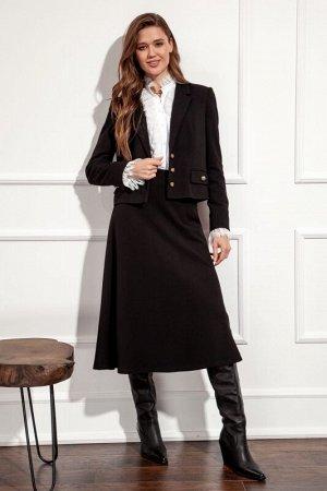 Юбка миди Рост: 170 см. Состав ткани: Комфортная юбка А-силуэта из трикотажа на поясе с резинкой, длиной миди. полиэстер 70%, вискоза 25%, спандекс 5%