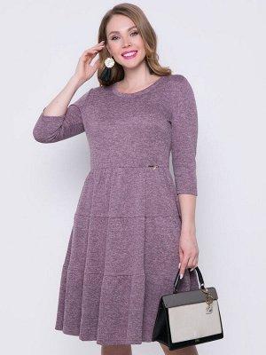 Платье Новая волна (пыльная роза)