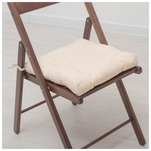 Подушка для стула 45*45 бязь (бежевый)