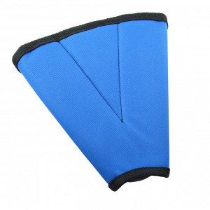 Адаптер ремня безопасности детский SKYWAY (застежки-липучки) Синий