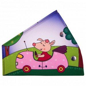 Адаптер ремня безопасности детский SKYWAY Свинка
