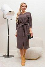 Платье Тэмми №3.Цвет:шоколадный