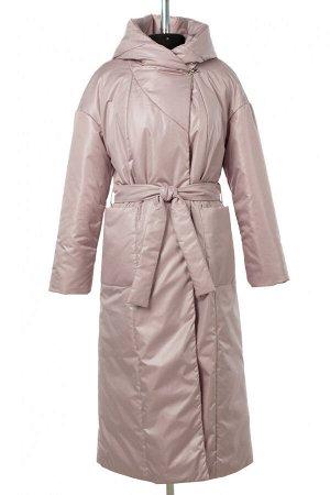 04-2806 Куртка женская демисезонная (синтепон 180) Плащевка розово-бежевый