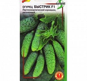 """Семена Огурец """"Быстрик"""" F1, select, раннеспелый, партенокарпический, 10 шт"""